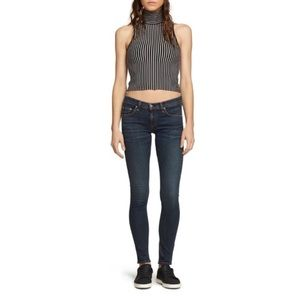 Rag & Bone skinny dark denim jeans